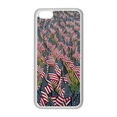 Repetition Retro Wallpaper Stripes Apple Iphone 5c Seamless Case (white) by BangZart