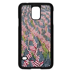 Repetition Retro Wallpaper Stripes Samsung Galaxy S5 Case (black) by BangZart