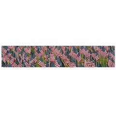 Repetition Retro Wallpaper Stripes Flano Scarf (large) by BangZart