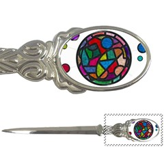 Stained Glass Color Texture Sacra Letter Openers