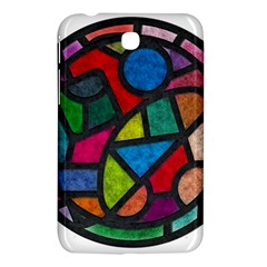 Stained Glass Color Texture Sacra Samsung Galaxy Tab 3 (7 ) P3200 Hardshell Case  by BangZart