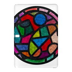 Stained Glass Color Texture Sacra Samsung Galaxy Tab Pro 12 2 Hardshell Case by BangZart