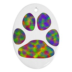 Paw Ornament (oval)