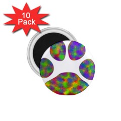 Paw 1 75  Magnets (10 Pack)  by BangZart