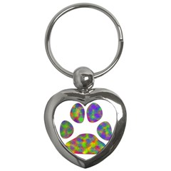 Paw Key Chains (heart)  by BangZart