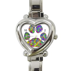 Paw Heart Italian Charm Watch by BangZart