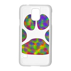 Paw Samsung Galaxy S5 Case (white)