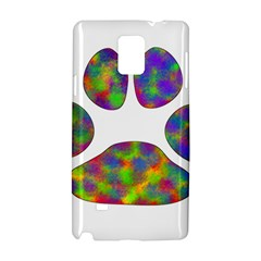 Paw Samsung Galaxy Note 4 Hardshell Case by BangZart