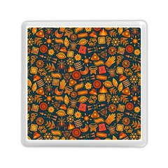 Pattern Background Ethnic Tribal Memory Card Reader (square)