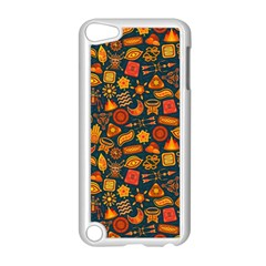 Pattern Background Ethnic Tribal Apple Ipod Touch 5 Case (white) by BangZart