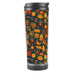 Pattern Background Ethnic Tribal Travel Tumbler by BangZart