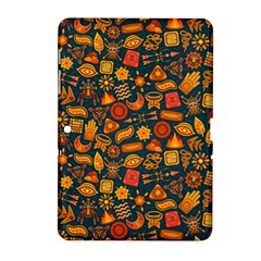 Pattern Background Ethnic Tribal Samsung Galaxy Tab 2 (10 1 ) P5100 Hardshell Case  by BangZart