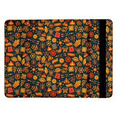 Pattern Background Ethnic Tribal Samsung Galaxy Tab Pro 12 2  Flip Case