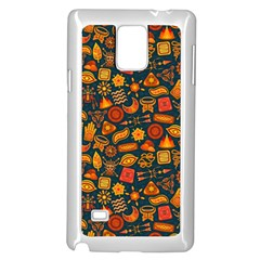 Pattern Background Ethnic Tribal Samsung Galaxy Note 4 Case (white)
