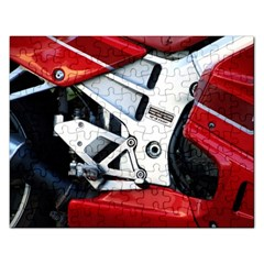 Footrests Motorcycle Page Rectangular Jigsaw Puzzl
