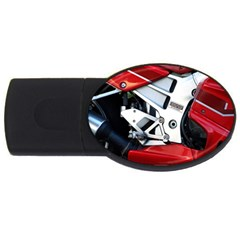 Footrests Motorcycle Page Usb Flash Drive Oval (4 Gb) by BangZart