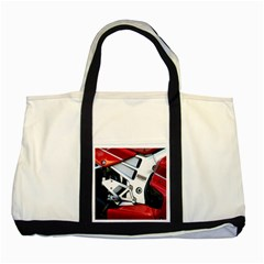 Footrests Motorcycle Page Two Tone Tote Bag by BangZart