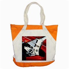 Footrests Motorcycle Page Accent Tote Bag by BangZart