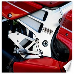 Footrests Motorcycle Page Canvas 16  X 16