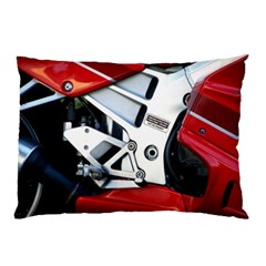 Footrests Motorcycle Page Pillow Case