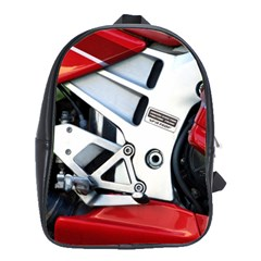 Footrests Motorcycle Page School Bags(large)