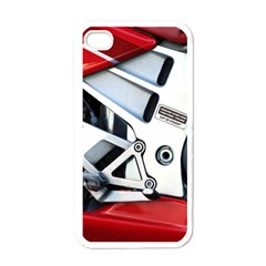 Footrests Motorcycle Page Apple Iphone 4 Case (white) by BangZart