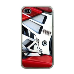 Footrests Motorcycle Page Apple Iphone 4 Case (clear)