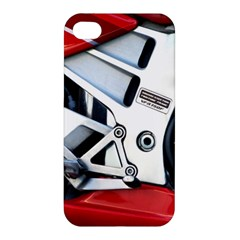 Footrests Motorcycle Page Apple Iphone 4/4s Premium Hardshell Case by BangZart