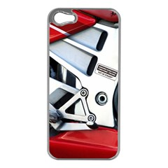 Footrests Motorcycle Page Apple Iphone 5 Case (silver) by BangZart