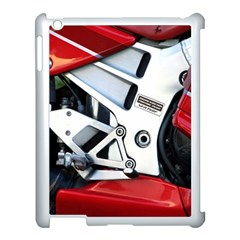 Footrests Motorcycle Page Apple Ipad 3/4 Case (white)