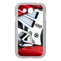 Footrests Motorcycle Page Samsung Galaxy Grand Duos I9082 Case (white)