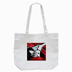 Footrests Motorcycle Page Tote Bag (white) by BangZart