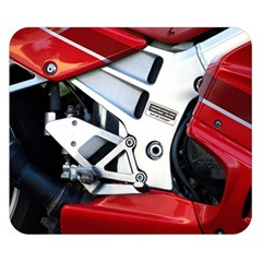 Footrests Motorcycle Page Double Sided Flano Blanket (small)  by BangZart
