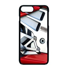 Footrests Motorcycle Page Apple Iphone 7 Plus Seamless Case (black) by BangZart