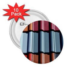 Shingle Roof Shingles Roofing Tile 2 25  Buttons (10 Pack)