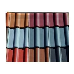 Shingle Roof Shingles Roofing Tile Cosmetic Bag (xl)