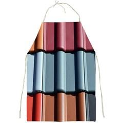 Shingle Roof Shingles Roofing Tile Full Print Aprons