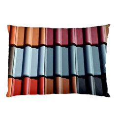 Shingle Roof Shingles Roofing Tile Pillow Case (two Sides)
