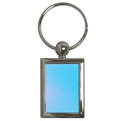 Background Graphics Lines Wave Key Chains (rectangle)