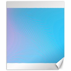Background Graphics Lines Wave Canvas 8  X 10  by BangZart