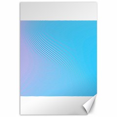 Background Graphics Lines Wave Canvas 12  X 18