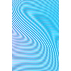 Background Graphics Lines Wave 5 5  X 8 5  Notebooks by BangZart