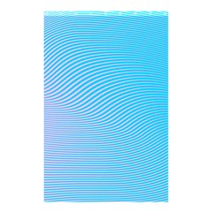 Background Graphics Lines Wave Shower Curtain 48  X 72  (small)  by BangZart