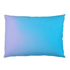 Background Graphics Lines Wave Pillow Case (two Sides) by BangZart