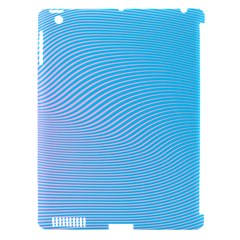Background Graphics Lines Wave Apple Ipad 3/4 Hardshell Case (compatible With Smart Cover) by BangZart