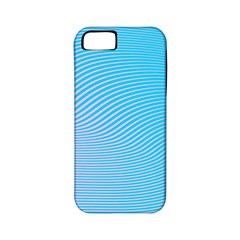 Background Graphics Lines Wave Apple Iphone 5 Classic Hardshell Case (pc+silicone)