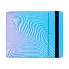 Background Graphics Lines Wave Samsung Galaxy Tab Pro 8 4  Flip Case by BangZart