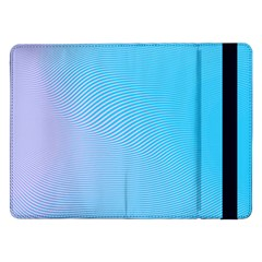 Background Graphics Lines Wave Samsung Galaxy Tab Pro 12 2  Flip Case by BangZart