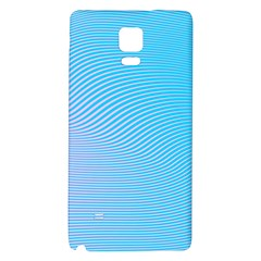 Background Graphics Lines Wave Galaxy Note 4 Back Case by BangZart