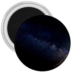 Cosmos Dark Hd Wallpaper Milky Way 3  Magnets